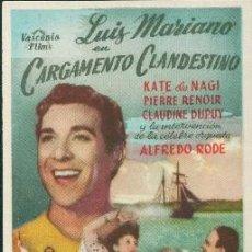 Cine: CARGAMENTO CLANDESTINO. Lote 243669460