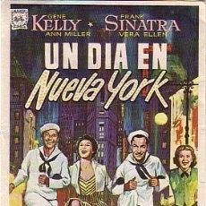 Cine: UN DÍA EN NUEVA YORK (CON PUBLICIDAD). Lote 243669865