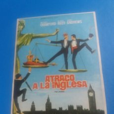 Cine: ATRACO A LA INGLESA. Lote 243869490