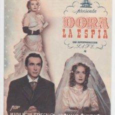 Cine: DORA LA ESPÍA (CON PUBLICIDAD). Lote 243918130