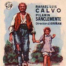 Cine: MIGUITAS Y EL CARBONERO (CON PUBLICIDAD9. Lote 243918980