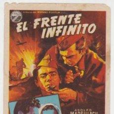Cine: EL FRENTE INFINITO. Lote 243920170