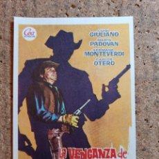 Cine: FOLLETO DE MANO DE LA PELICULA LA VENGANZA DE CLARK HARRISON. Lote 243973300
