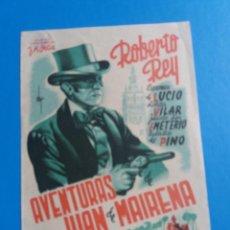 Cine: AVENTURAS DE DON JUAN DE MAIRENA. Lote 244679735