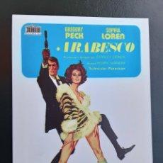 Cine: ARABESCO, GREGORYPECK, SOFIALOREN, IMPRESO EN LOS AÑOS 80. Lote 244703655