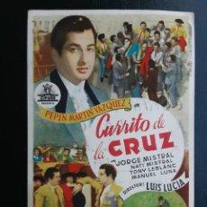 Cine: CURRITO DE LA CRUZ, PEPIN MARTÍN VÁZQUEZ, CIFESA. Lote 244706770