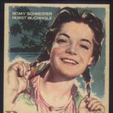 Cine: P-5674- ROBINSON (ROBINSON SOLL NICHT STERBEN) ROMY SCHNEIDER - HORST BUCHHOLZ. Lote 244707305