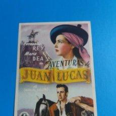Cine: AVENTURAS DE JUAN LUCAS. Lote 244710495