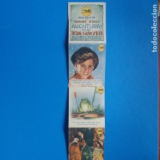 Cine: LAS AVENTURAS DE TOM SAWYER TIRA CON 10 IMAGENES. Lote 244717160