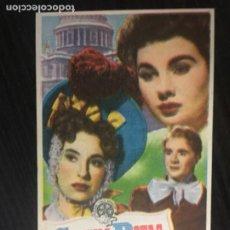 Cine: CADENAS ROTAS - PROGRAMA DE CINE MALGRAT C/P 1950. Lote 244756135
