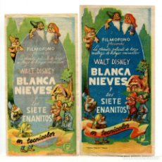 Cine: BLANCANIEVES Y LOS 7 ENANITOS.. Lote 245125200