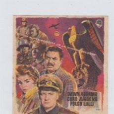 Cine: LONDRES LLAMA A POLO NORTE. PROGRAMA DE CINE SENCILLO CON PUBLICIDAD. TEATRO ANDALUCIA.. Lote 245257715