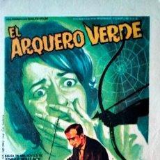 Cine: EL ARQUERO VERDE. Lote 245298205