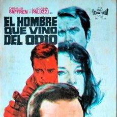 Cine: EL HOMBRE QUE VINO DEL ODIO (CON PUBLICIDAD). Lote 245300730