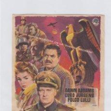 Cine: LONDRES LLAMA A POLO NORTE. PROGRAMA DE CINE SENCILLO CON PUBLICIDAD. TEATRO ANDALUCIA.. Lote 245455440
