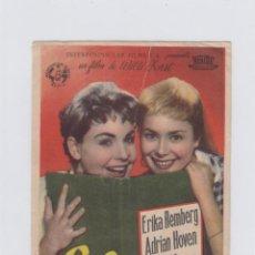 Foglietti di film di film antichi di cinema: LILI FALTA A CLASE. PROGRAMA DE CINE SENCILLO CON PUBLICIDAD. CINE GADES. CÁDIZ.. Lote 245562435