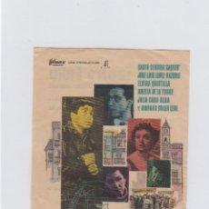Cine: PLACIDO. PROGRAMA DE CINE SENCILLO CON PUBLICIDAD. CINE GADES. CÁDIZ.. Lote 245564525