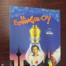 Cine: EL EXTRANGER-OH DE LA CALLE CRUZ DEL SUR - FOLLETO MANO ORIGINAL - JOSE SACRISTAN LYDIA BOSCH. Lote 245619860