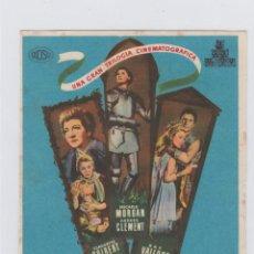 Cine: DESTINOS DE MUJER. PROGRAMA DE CINE SENCILLO CON PUBLICIDAD. CINE GADES. CÁDIZ.. Lote 245646300