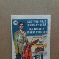 Cine: BAJO EL CIELO DE ESPAÑA CON SELLO CINE DEL PARQUE PIEDRABUENA. Lote 245710135