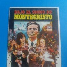 Cine: BAJO EL SIGNO DE MONTECRISTO. Lote 245927145
