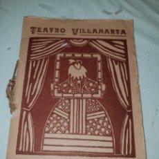 Cine: PROGRAMA TEATRO VILLAMARTA JEREZ 1935. Lote 245994530