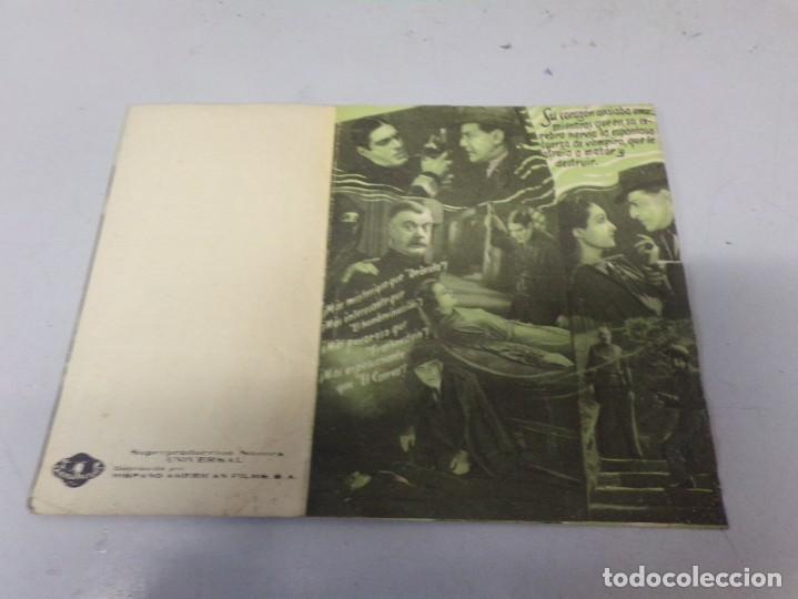 Cine: folleto mano LA HIJA DE DRÁCULA, CINE TERROR - Foto 2 - 246507965