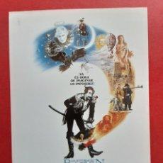 Flyers Publicitaires de films Anciens: LAS AVENTURAS DEL BARON MUNCHAUSEN, IMPRESO EN LOS AÑOS 80. Lote 246691415