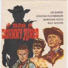 Cine: LA BALADA DE JOHNNY RINGO. Lote 246782690