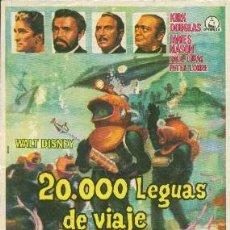 Cine: 20.000 LEGUAS DE VIAJE SUBMARINO. Lote 246783835
