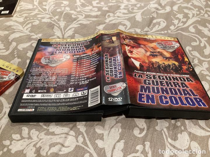Cine: LA 2ª GUERRA MUNDIAL EN COLOR-PACK DE 12DVDS - 26 HORAS DE VISIONADO- EN SU ESTUCHE DE METAL - Foto 8 - 246853730