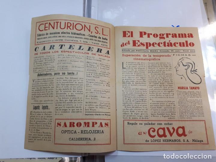 Cine: Esta es la fecha. Echegaray, Málaga. Libretillo. - Foto 5 - 246981120