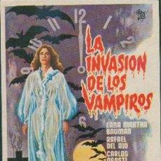 Cine: LA INVASIÓN DE LOS VAMPIROS. Lote 246998890