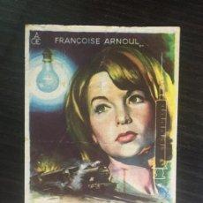 Flyers Publicitaires de films Anciens: LA CHATTE AFILA SUS GARRAS - PROGRAMA DE CINE CORNELLÀ C/P 1961. Lote 247639880