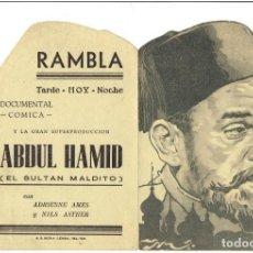 Cine: ABDUL HAMID EL SULTAN MALDITO CIFESA TROQUELADO. Lote 247654505