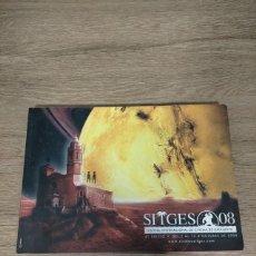 Folhetos de mão de filmes antigos de cinema: CATALOGO FESTIVAL CINE DE TERROR SITGES - 2008. Lote 248008355