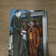 Folhetos de mão de filmes antigos de cinema: CATALOGO FESTIVAL CINE DE TERROR SITGES - 1989. Lote 248009600