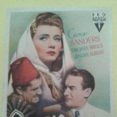 Cine: ARABIA GEORGE SANDERS ORIGINAL S.P. ALGUN DEFECTO. Lote 248054855