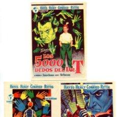 Folhetos de mão de filmes antigos de cinema: LOS 5000 DEDOS DEL DR. T, DE ROY ROWLAND.. Lote 248308645
