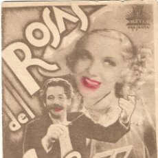 Cine: PN - PROGRAMA DOBLE - ROSAS DEL SUR - PAUL HOERBIGER, CRETI THEIMER - IDEAL CINEMA - 1935.. Lote 248571460