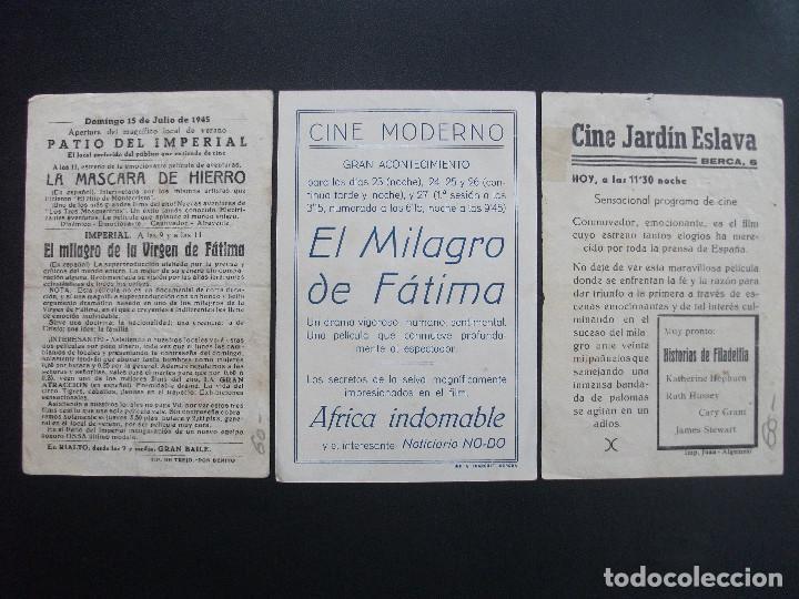 Cine: EL MILAGRO DE FÁTIMA, VARIANTE DISTRIBUIDORA - Foto 2 - 248662125