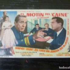 Folhetos de mão de filmes antigos de cinema: PROGRAMA DE CINE IMPRESO EN LA PARTE TRASERA. Lote 249054280
