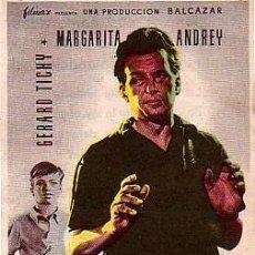 Cine: NUNCA ES DEMASIADO TARDE (CON PUBLICIDAD). Lote 251268990