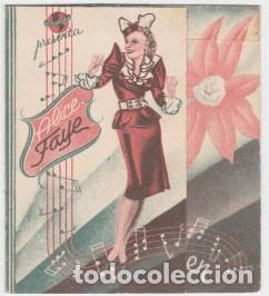 MILLONARIO A SUELDO (Cine - Folletos de Mano - Musicales)