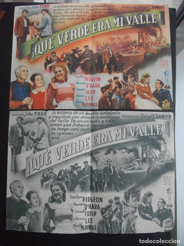 Cine: QUE VERDE ERA MI VALLE, WALTER PIDGEON, VARIANTE - Foto 2 - 252423300