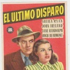 Cine: EL ÚLTIMO DISPARO (CON PUBLICIDAD). Lote 253186590