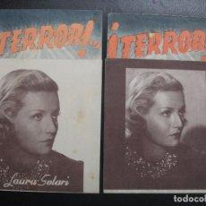 Cine: TERROR!, LAURA SOLARI, VARIANTE. Lote 253278065