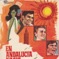 """Cine: EN ANDALUCIA NACIO EL AMOR .- JUAN LUIS GALIARDO , MANUEL BENITEZ """"EL CORDOBES"""". Lote 253437405"""