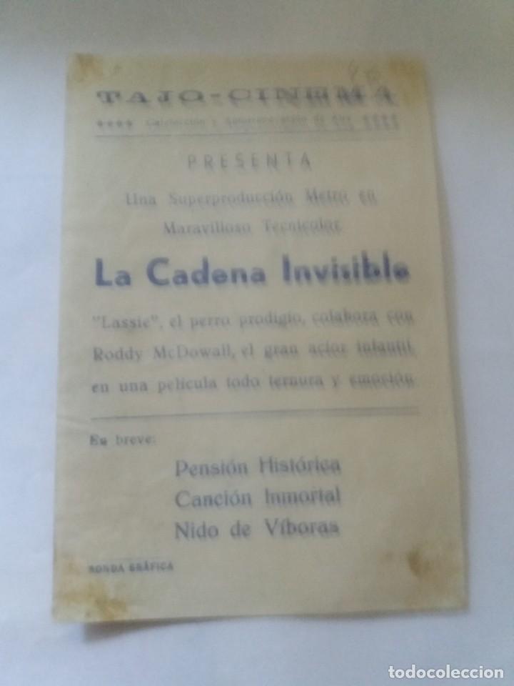 Cine: La cadena invisible con Publicidad Tajo Cinema Ronda - Foto 2 - 253880535