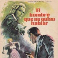 Cine: EL HOMBRE QUE NO QUISO HABLAR .- ANNA NEAGLE. Lote 253889415